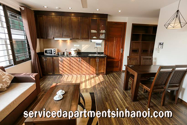 brand new 2 bedroom apartment rental near pham van dong street cau