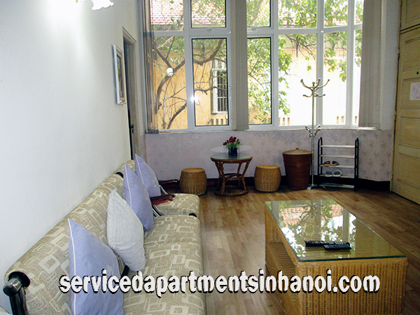 Cheap One Bedroom Apartment For Rent In Hoan Kiem District