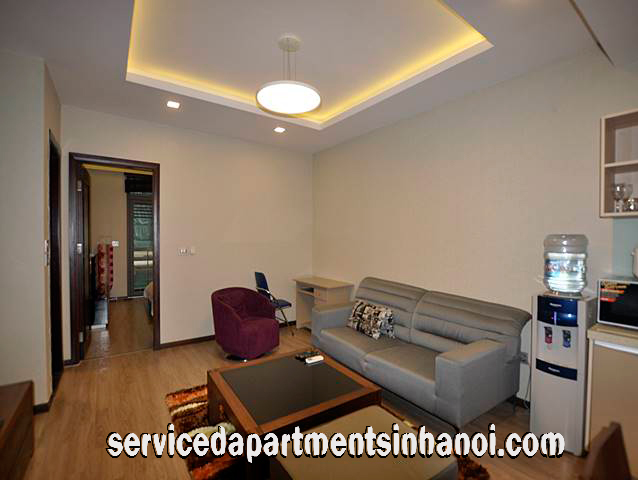 Modern Furniture One Bedroom Apartment Rental In Ba Dinh