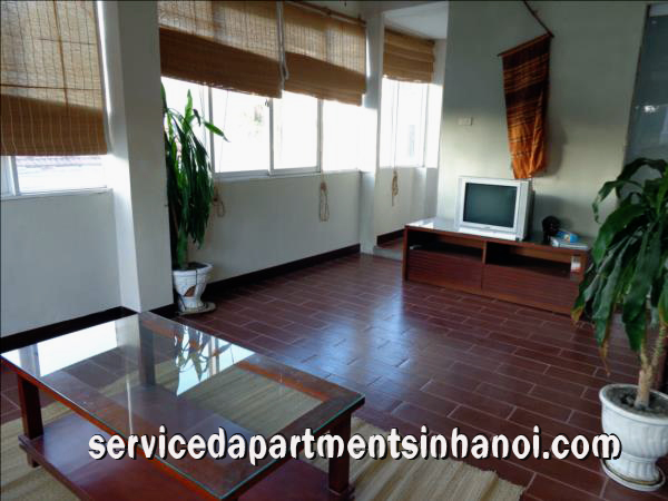 Spacious one bedroom apartment for rent in ba trieu street hai ba trung for Spacious one bedroom apartment