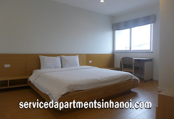 Very Clean and Modern One bedroom Serviced Apartment rental in Tay Ho, Hanoi
