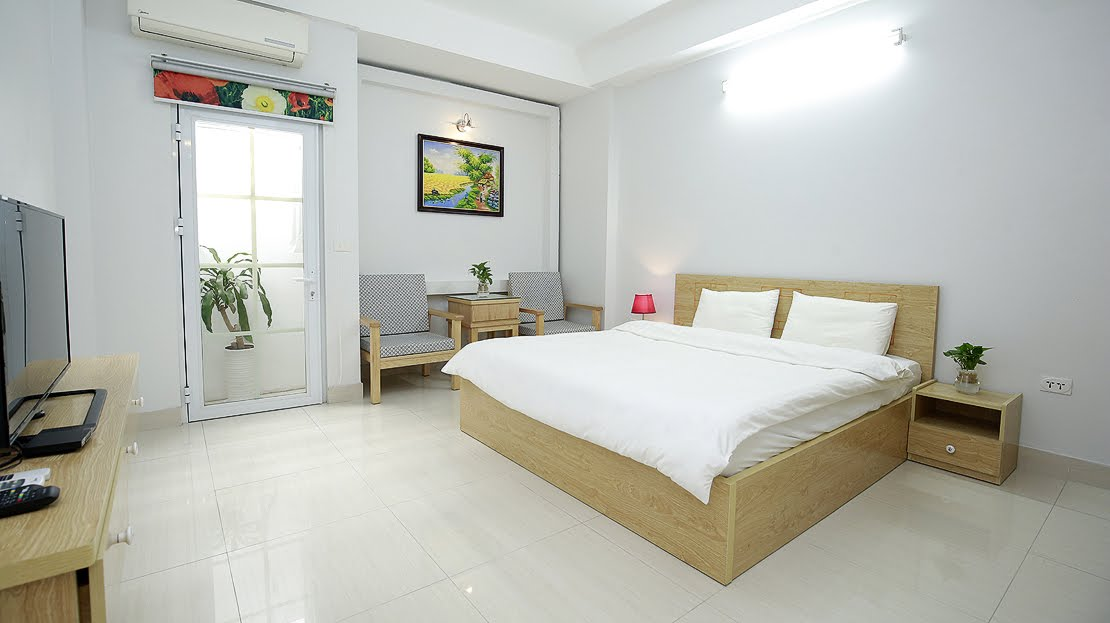 Affordable Serviced Apartment Rental in Tran Hung Dao street, Hoan Kiem