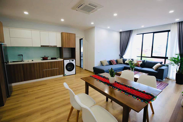 *Amazing Bright Two Bedroom Apartment For Rent Near Lotte Center, Ba Dinh*