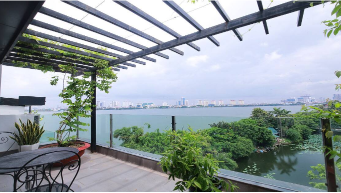 Amazing West lake view 2BR APT with huge balcony