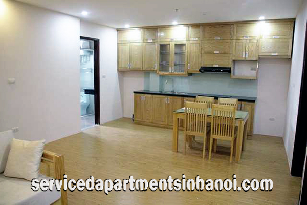 Beautiful 2 bdr apartment for rent in Giang Vo str, Ba Dinh