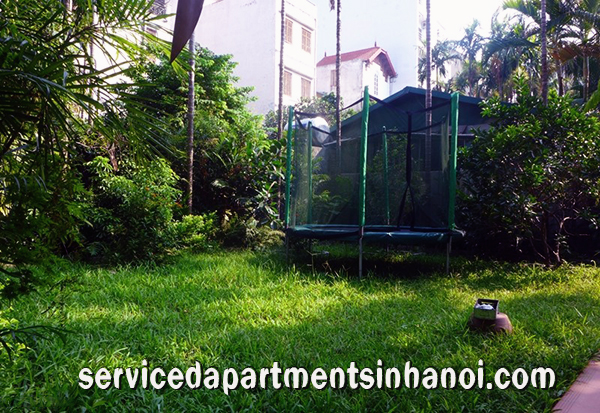 StartStop Beautiful Garden House for rent in Dang Thai Mai street  Tay Ho