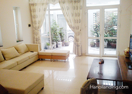 Beautiful house for rent in Van Ho str near Thong Nhat lake