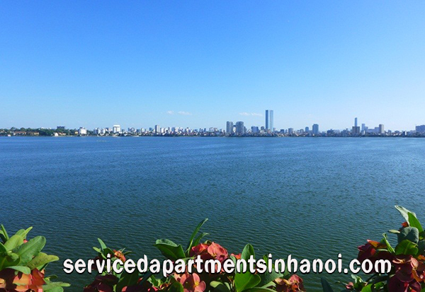 Beautiful Lake View Two bedroom Apartment in Tay Ho, Near Sheraton Hotel