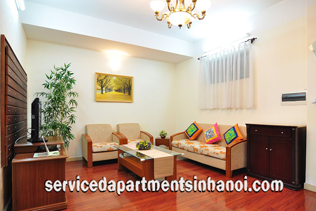 Beautiful Three Bedroom Apartment Rental in Lo Duc Street, Hai Ba Trung