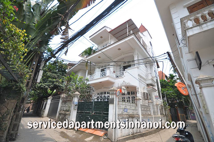 Stunning villa for rent in Dang Thai Ma street, Tay Ho