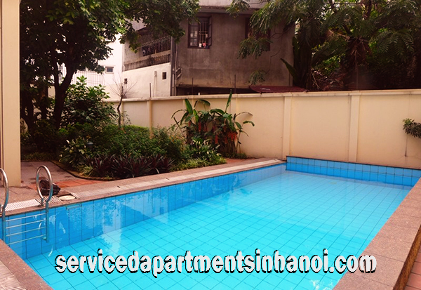 Beautiful Villa with gorgeous garden for rent in To Ngoc Van Str, Tay Ho