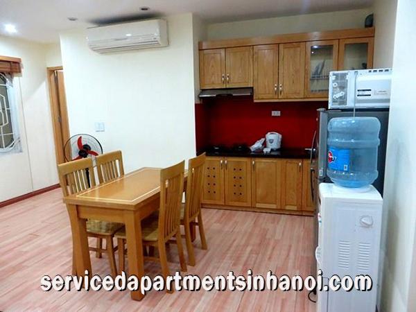 Big One Bedroom Apartment With Nice Furniture Rental In Long Bien