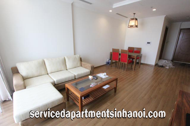 Brand New 2 bed Apartment Rental in Vinhomes Nguyen Chi Thanh, Ba Dinh