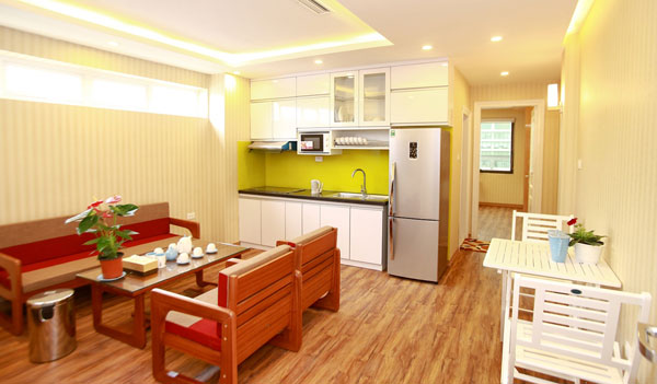 Brand New Apartment Rental in Yet Kieu st, Hoan Kiem, all fee inclued, except for VAT