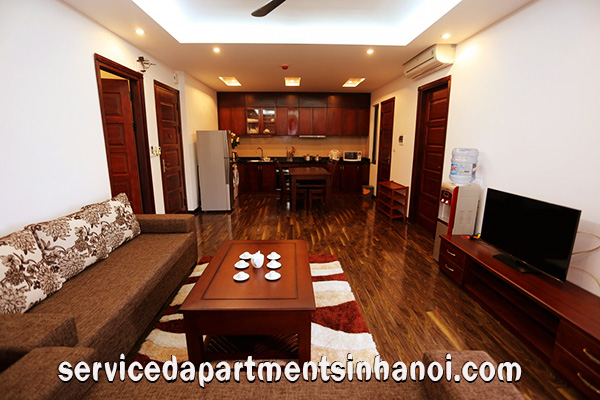 Brand New rental 2 bed serviced apartment in Hoang Quoc Viet, Cau Giay