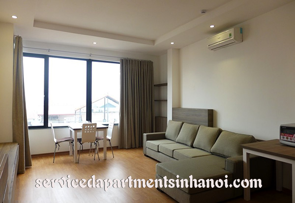Brand new serviced apartment for rent in Au Co near InterContinental Hotel