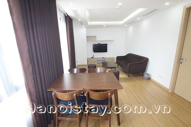 Brand New Serviced Apartment Rental near Thong Nhat Park, Dong Da