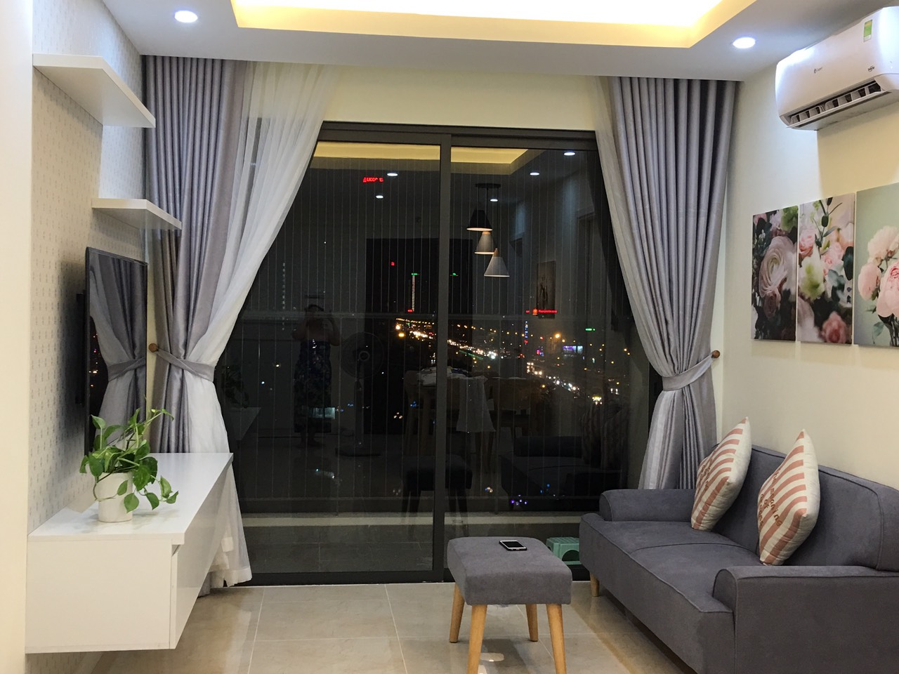 Brand new two bedroom apartment rental in C1 Vinhomes D'Capital Tran Duy Hung, Cau Giay