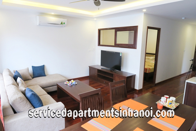 Brand New Two Bedroom Apartment Rental In Tay Ho Str, High Quality Furniture