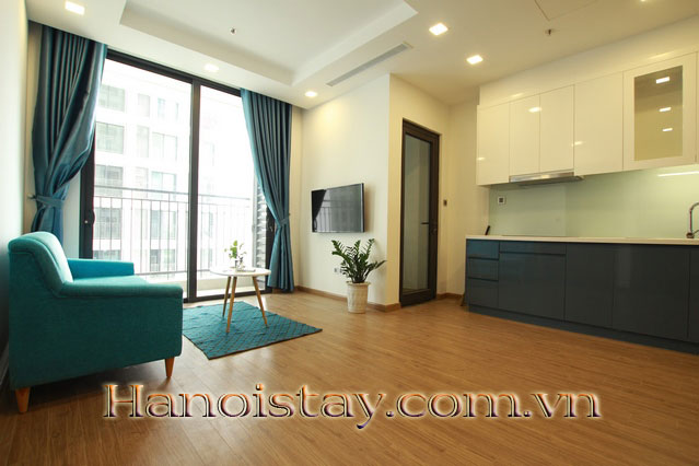 Brand new two bedroom apartment rental on 38th floor, Vinhomes Greenbay