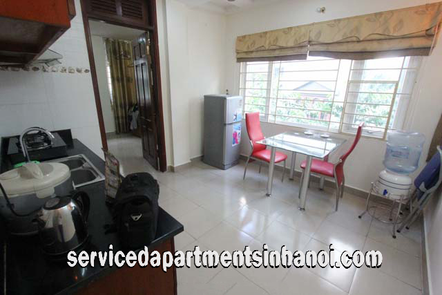 Bright Apartment for Rent in Lang Ha str, Dong Da