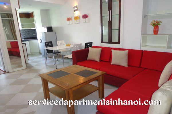 Bright rental apartment in a quiet street of Hai Ba Trưng district