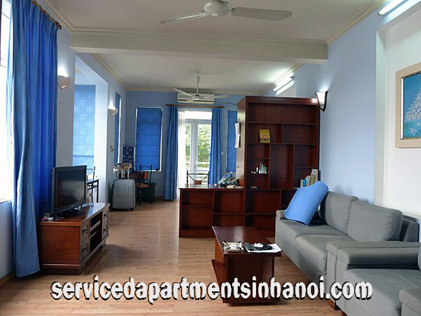 Bright Serviced  Apartment for rent in Truc Bach Area, Ba Dinh