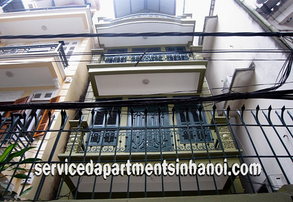 Budget Price Four Bedroom House for rent near Xuan Dieu street, Tay Ho