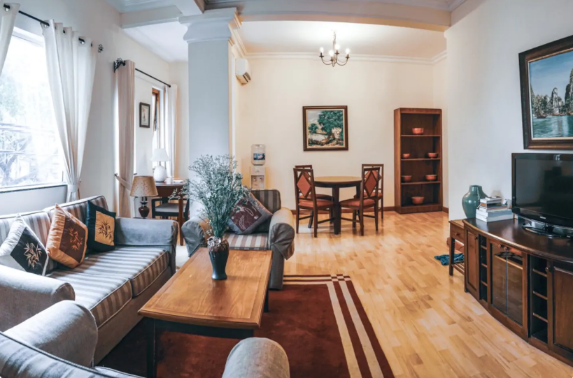 Charming  apartment for rent in a stylish townhome of Hoan Kiem