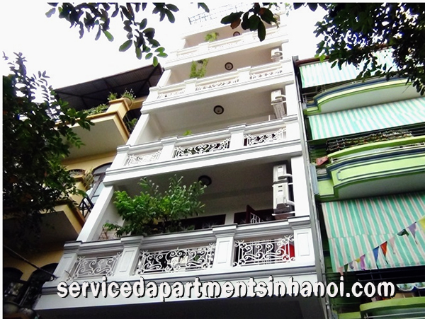 Charming apartment  for rent in Tran Phu str , Ba Dinh