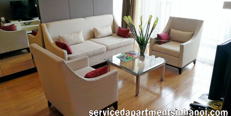 Cheap 2 bdr apartment for rent in Hoabinh Green, Badinh