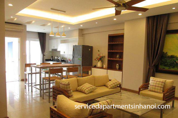 Cheap apartment for rent in Peach Garden, Tay Ho district.