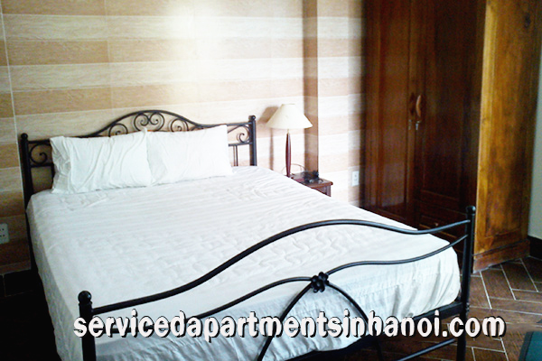 Cheap One bedroom apartment for rent near West lake, Tay Ho