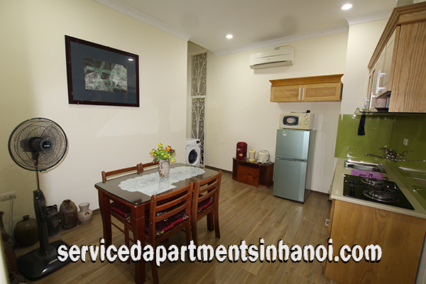 Cheap One Bedroom Apartment Rental in Nguyen Cong Tru street, Hai Ba Trung