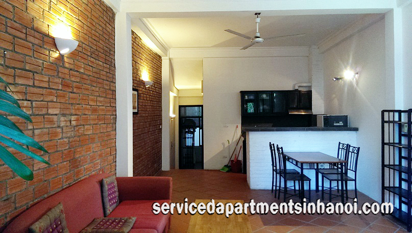 Cheap quality apartment for rent in Truc Bach area