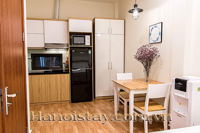 Cheap Serviced Apartment for Rent in Dao Tan str, Ba Dinh