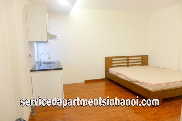 Cheap Studio apartment for rent near Sofitel Hotel and Truc Bach Lake, Ba Dinh