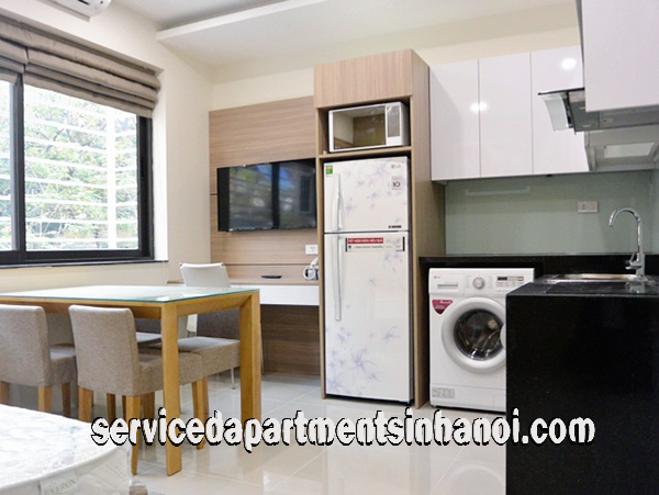 Cheap Studio Apartment Rental in Ta Quang Buu str, Hai Ba Trung
