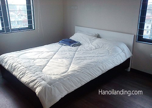 Cheap Two Bedroom Serviced Apartment in Van Cao str, Ba Dinh