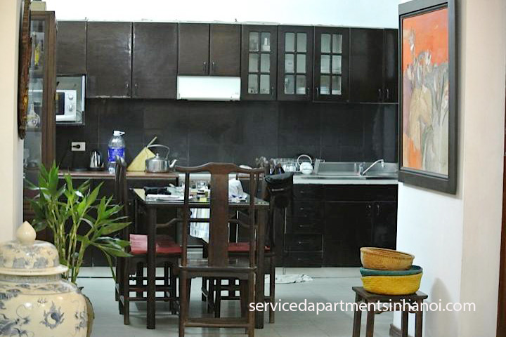 Classic style House for rent in Le Duan st, Dong Da