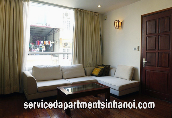 Convenient One Bedroom Apartment  Rental in Truc Bach Area, Ba Dinh
