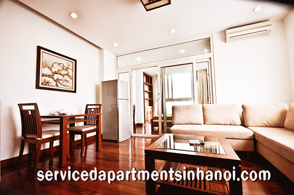 Cozy apartment with Lakeview in Truc Bach Area for rent