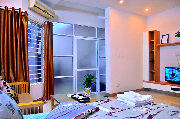 Delight One Bedroom Apartment Rental in Cau Giay street, Cau giay District, Budget Price