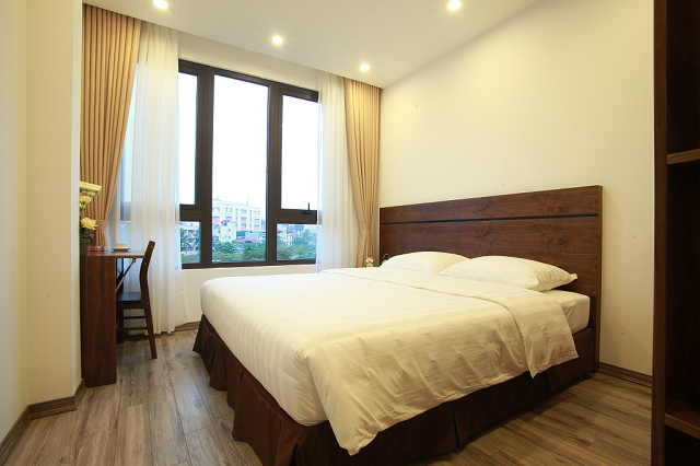 Deluxe Executive Residence for Rent in Tran Quoc Hoan Street, Cau Giay