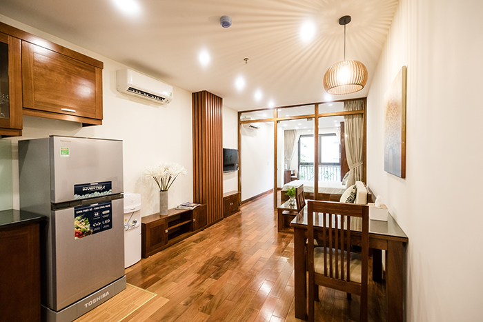 *Deluxe Serviced Apartment For Rent in Dao Tan Street, Ba Dinh*