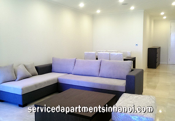 Elegant Three Bedroom Apartment for rent in Tower L1, Ciputra Area