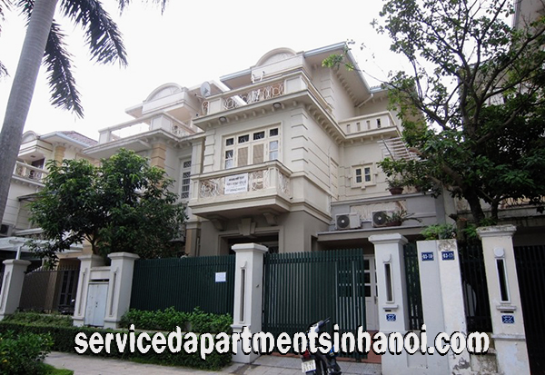 Five bedroom House for rent in Block G, Ciputra Urban Area, Tay Ho, Near UNIS