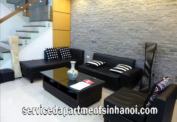 Five bedroom House Rental in Nghi Tam Village, Tay Ho, Close to InterCon-Hotel