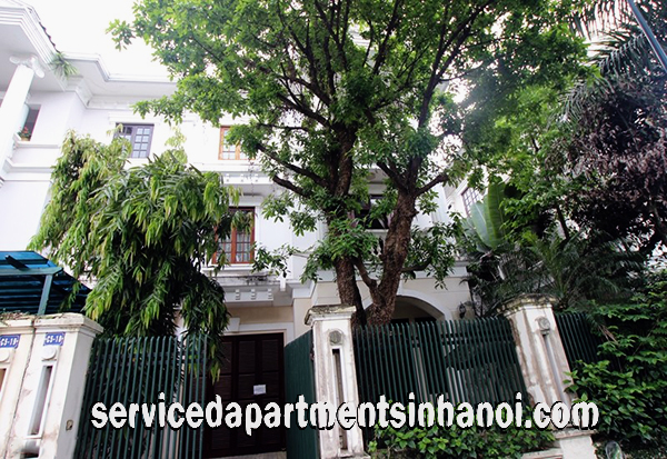 Five Bedroom Villa for rent with A spacious Size  for rent in C5 Block, Ciputra