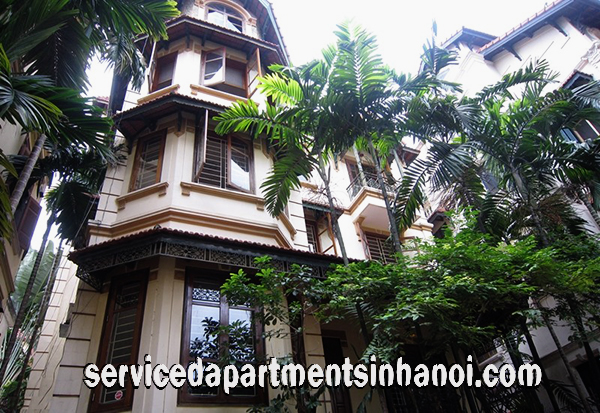 Five Bedroom Villa with a Big Pool for rent in To Ngoc Van Street, Tay Ho